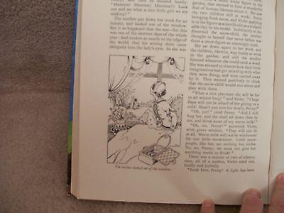 COLLINS GIRLS ANNUAL Drawings by Jean Walmsley Heap Pendelfin w Dust Jacket