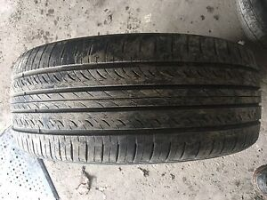 2x 215/45/17 Hankook Optimo Tires
