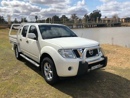 2014 Nissan Navara ST 4X4 Dual Cab Chassis Forbes Forbes Area Preview