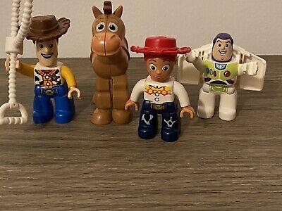 Lego Duplo Disney Toy Story Woody Jesse & Bullseye And Buzz Lightyear Figures