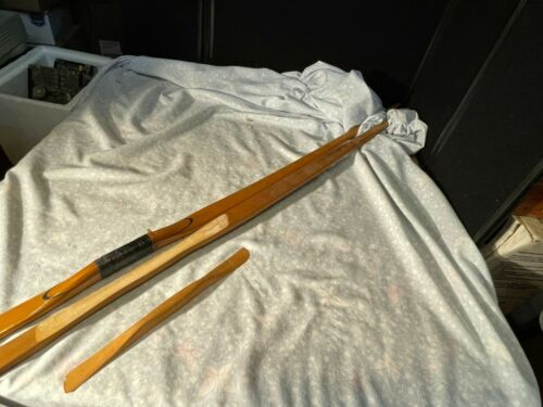 Longbow Lot Of 2 Traditional Archery Vintage
