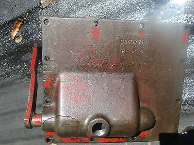 1964 Farmall 806 Diesel Tractor Transmission Shift Cover Free Shipping 384077r1
