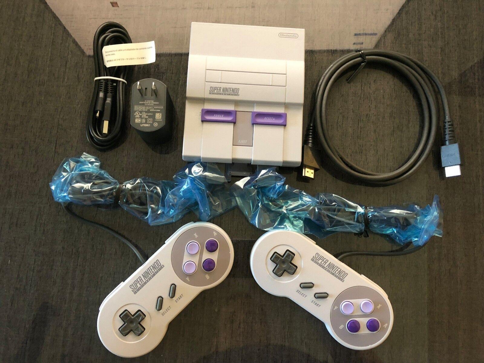 Nintendo Universal Super Nes Classic Edition