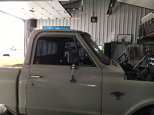 Chevy Chrome Truck Mirrors