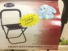 Heavy duty portable chair Mudgeeraba Gold Coast South Preview