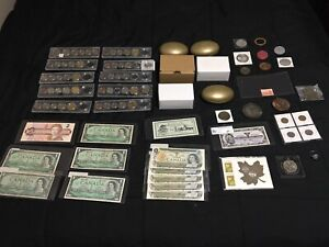 Huge Coin and Banknote Lot