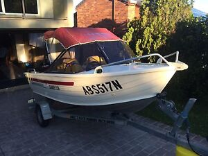 Quintrex 4.1m aluminium runabout Banora Point Tweed Heads Area Preview