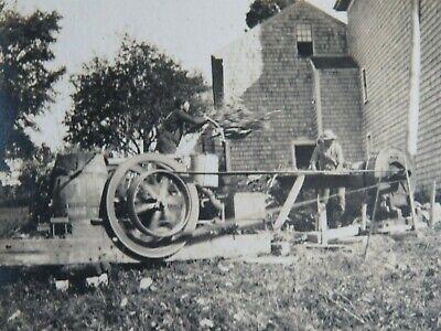 Antique Farm Equipment Photograph Album Horse Wagon Chickens Cats Shepherd Dog