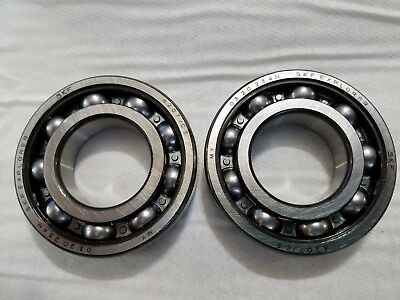Skf 6207 C3 Explorer Deep Groove Ball Bearing Qty Of 2