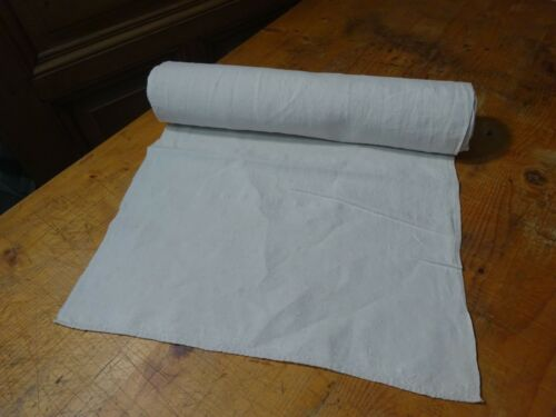 A Homespun Linen Hemp/Flax Yardage  9 Yards  x 18
