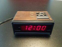 Retro Vintage COSMO Time LED digital Alarm Clock E529B Rare Miniature Clock