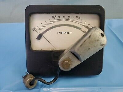 Jelenko Vacuum Porcelain Furnace Burnout Oven Temperture Pyrometer