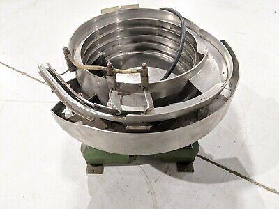 Service Engineering Vibratory Feeder System 785 13094 115v 12 Bowl