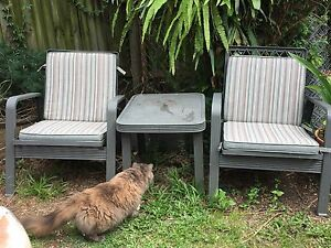 1950s outdoor furniture set Bardon Brisbane North West Preview