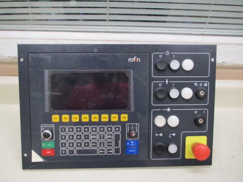 Rofin Sinar 221342 Operator / Control Panel Used Free Shipping