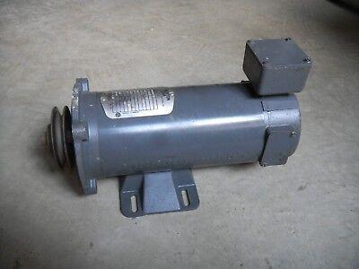 Boston Gear 12 Hp Dc Motor Pm950at-b 90v 56c 1750 Rpm Tenv