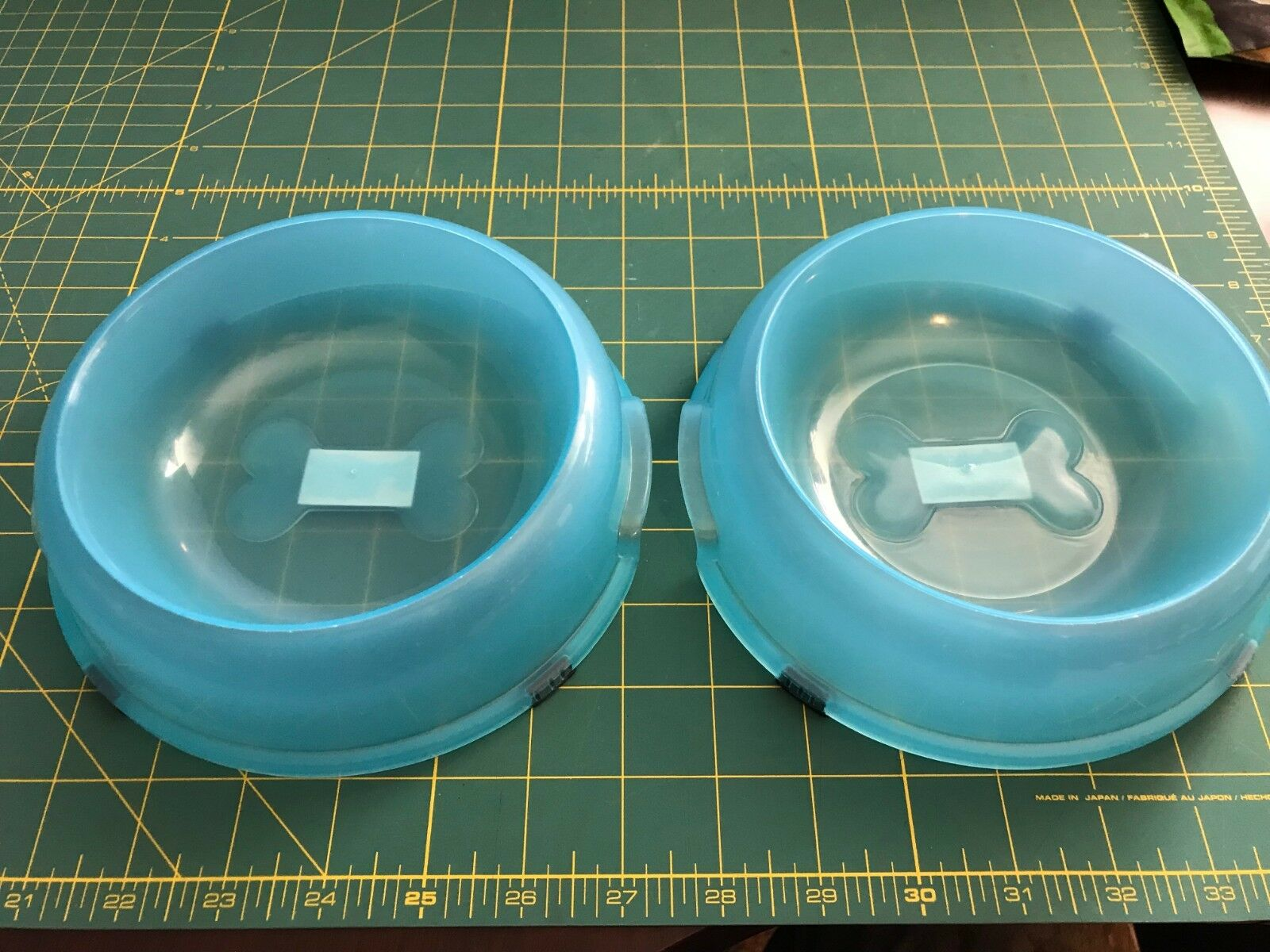 U PICK SETS of 2 Pet Food Water Bowls Neons Pet Studio Dog Cat New Small 2 cup