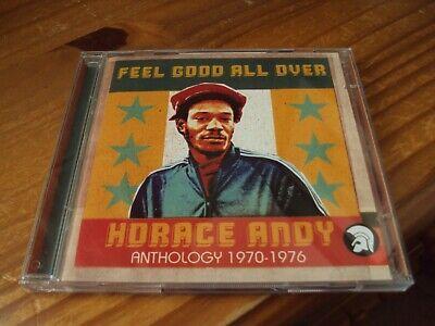 HORACE ANDY - ANTHOLOGY 1970-1976 - 46 TRACK 2002 TROJAN RECORDS DBL CD - MINT
