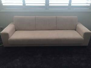 KING FURNITURE, 3 SEATER IN VANILLA Pagewood Botany Bay Area Preview