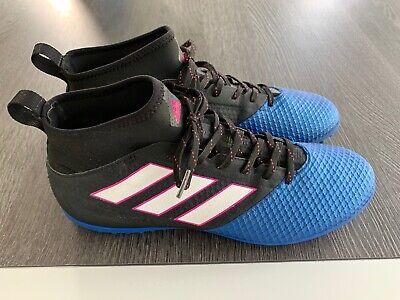 Adidas ACE 17.3 Primemesh Astro Turf - Core Black/White/Blue UK10