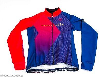 Verge Sport TOR FL Cycling Bib Shorts women polyester black red