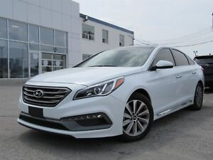 2017 Hyundai Sonata Sport Tech, Leather, Panoramic Sunroof, Navi