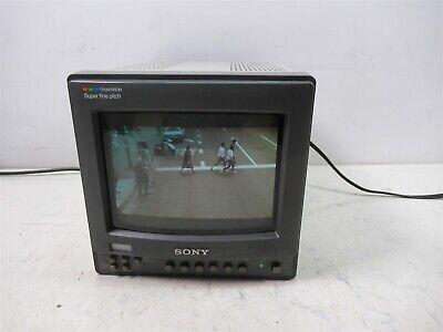 "Sony Trinitron PVM-8221 8"" Color Video Monitor Professional Studio Unit 400 Line"