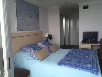 CBD Studio Apartment Brisbane City in four star hotel $375/w