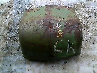 1951 John Deere B Tractor Jd Original Front Grill Nose Cone Hood Medallion Cover