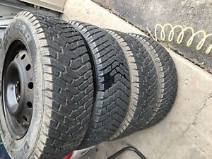 Goodyear Ultra Grip tires with Rims