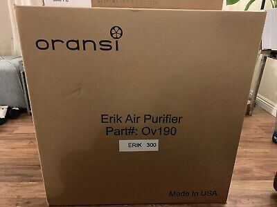 Oransi Erik 650A True HEPA Filter Whole House Air Purifier 110-120 V White