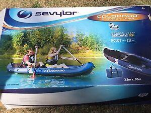 Sevylor Colorado Inflatable Kaya Umina Beach Gosford Area Preview