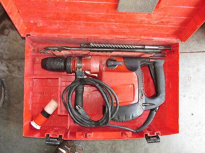 Hilti Te76 Hammer Drill 115v Sds-max Chuck Wlot Bits Case Nice 925
