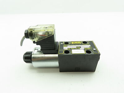 Parker D1vw020bnjw Hydraulic Directional Control Solenoid Valve 24vdc 5000 Psi