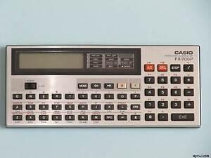 Casio FX-700P Pocket Computer / Calculator w/case Beaumont Hills The Hills District Preview