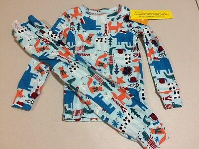 Girls Holiday Pajamas (NWT Gymboree Christmas Boys Girls Gymmies Holiday Pals Pajamas Holiday)