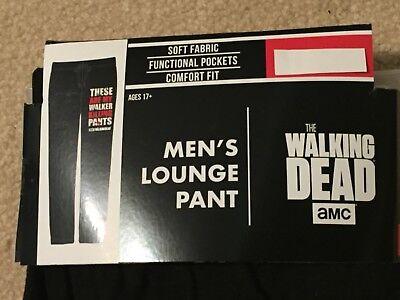 THE WALKING DEAD zombie NEGAN RICK Grimes MEN'S NEW Sleep LOUNGE Pajama Pants