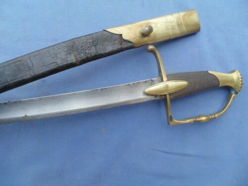 PRETTY AND NICE OFFICER INFANTRY SWORD SABER NAPOLEONIC W SCABBARD TO 1800