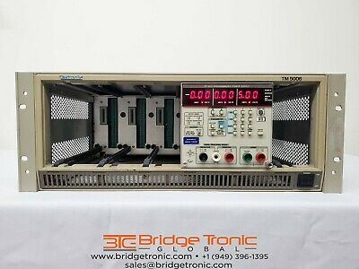 Tektronix Ps5010 And Tm5006 Programmable Power Supply