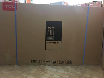60inch 152cm 4k ultra hd smart led tv netflix youtube freeview