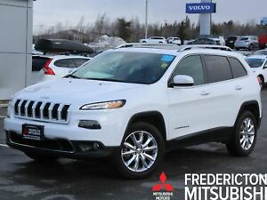 2016 Jeep Cherokee Limited V6 | 4X4 | LEATHER | SUNROOF | NAV