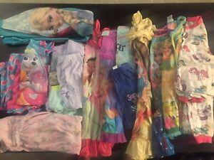 Girls PJ & nightgown lot 4T-6-6x
