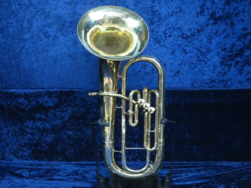 Conn 14I 3 Valve Baritone Horn Ser#GK780018 Plays Great with a Huge Sound!