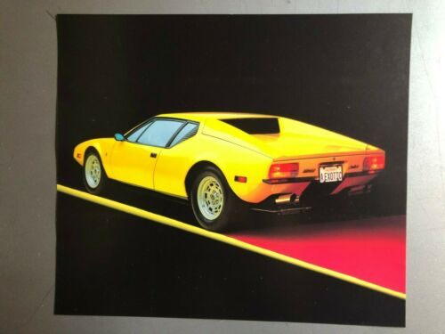 1972 De Tomaso Pantera Picture, Print, Poster -- RARE!! Awesome L@@K