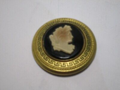 Vintage 1940 LUX soap Cameo  BROOCH SCARLETT O'HARA Gone With the Wind FREE SHIP