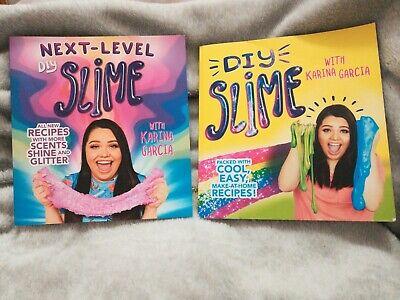 2 Karina Garcia DIY Slime / Next Level Books. Scents, Shine, Glitter!