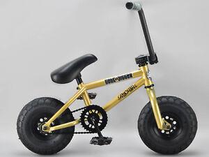 *GENUINE ROCKER* - GOLD DIGGER iROK+ BMX RKR Mini BMX Bike