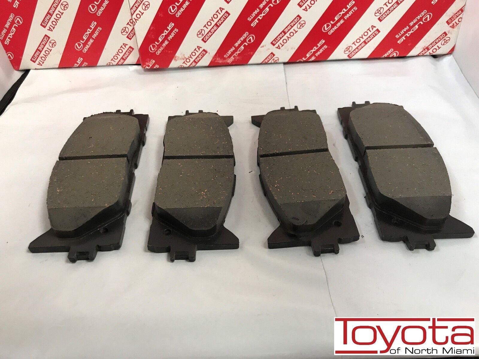 AVALON TOYOTA OEM Brake-Front Pads 0446506100 04465-06100 CAMRY