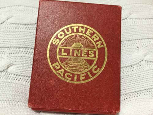 SOUTHERN PACIFIC LINES DAYLIGHT PLAYING CARDS