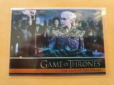 Game of Thrones Trading Card #10 The Last of the Starks